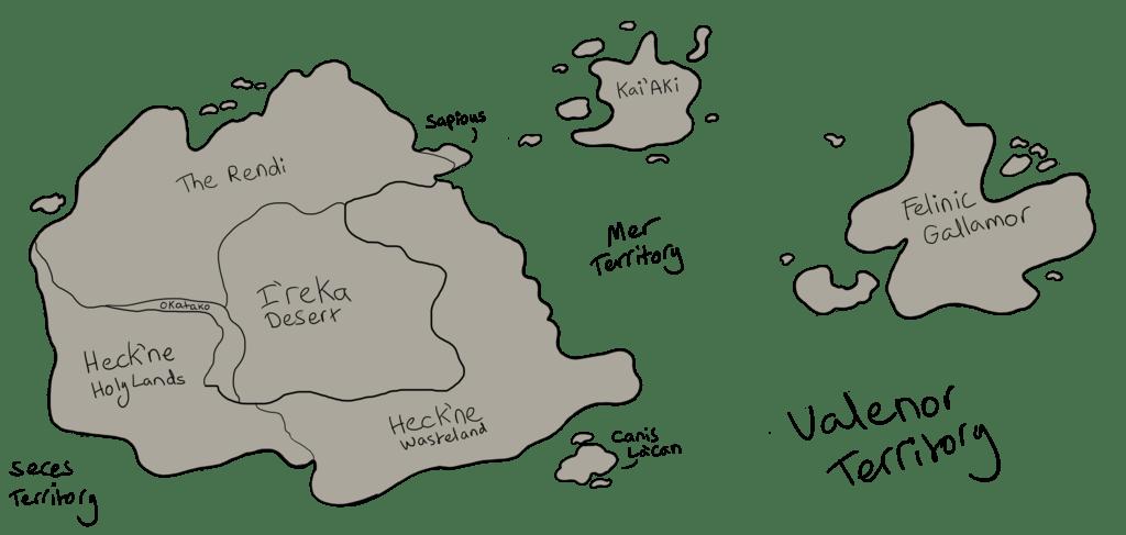 Original Heck'ne Map