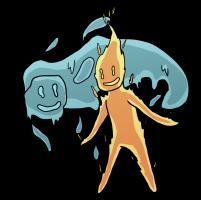 Elemental Sprite Chibis